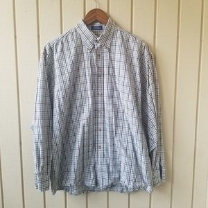 Pendleton 100% Cotton Long Sleeve Button Down Lg